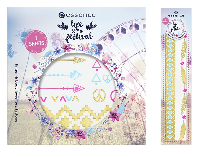 essence life is a festival body tattoos