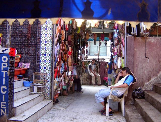 Jemaa El Fna w Marrakeszu suk