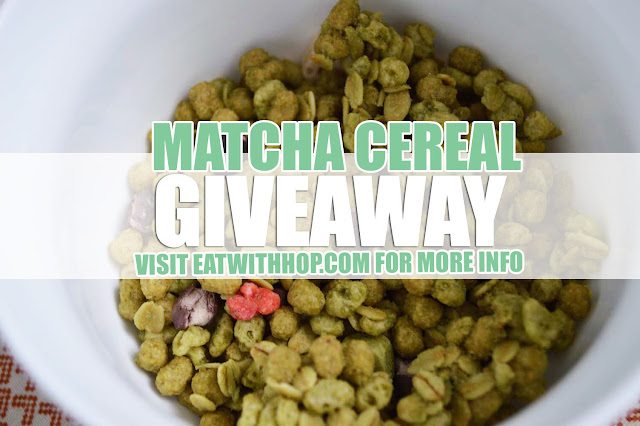 LOVE MATCHA? ENTER THE MATCHA CEREAL GIVEAWAY!
