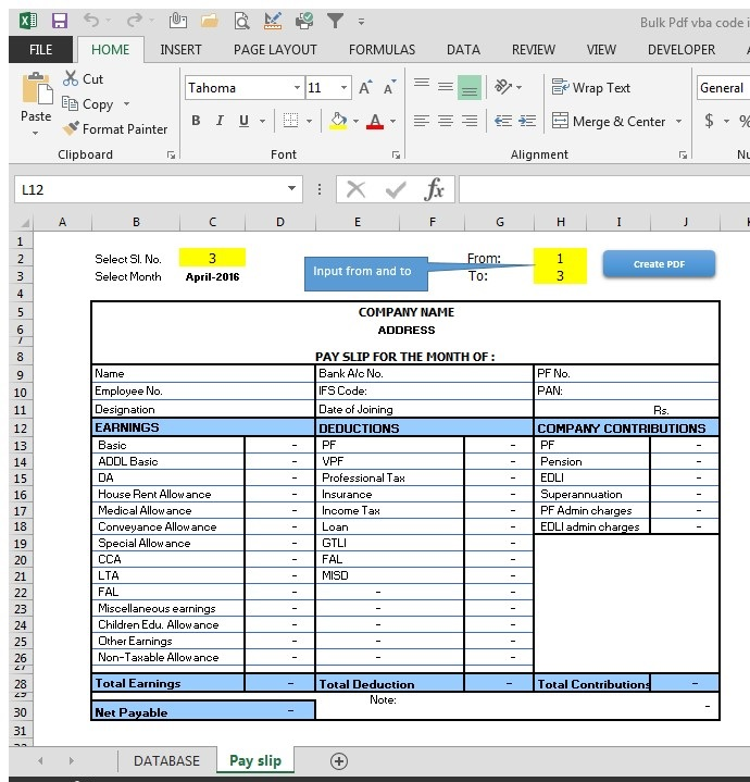 how to execute excel vba after field change