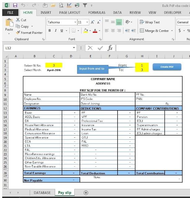 VBA Code to create bulk pdf