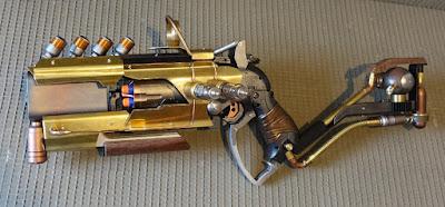 Súng đồ chơi Nerf Hammershot độ chế khoa học viễn tưởng 1