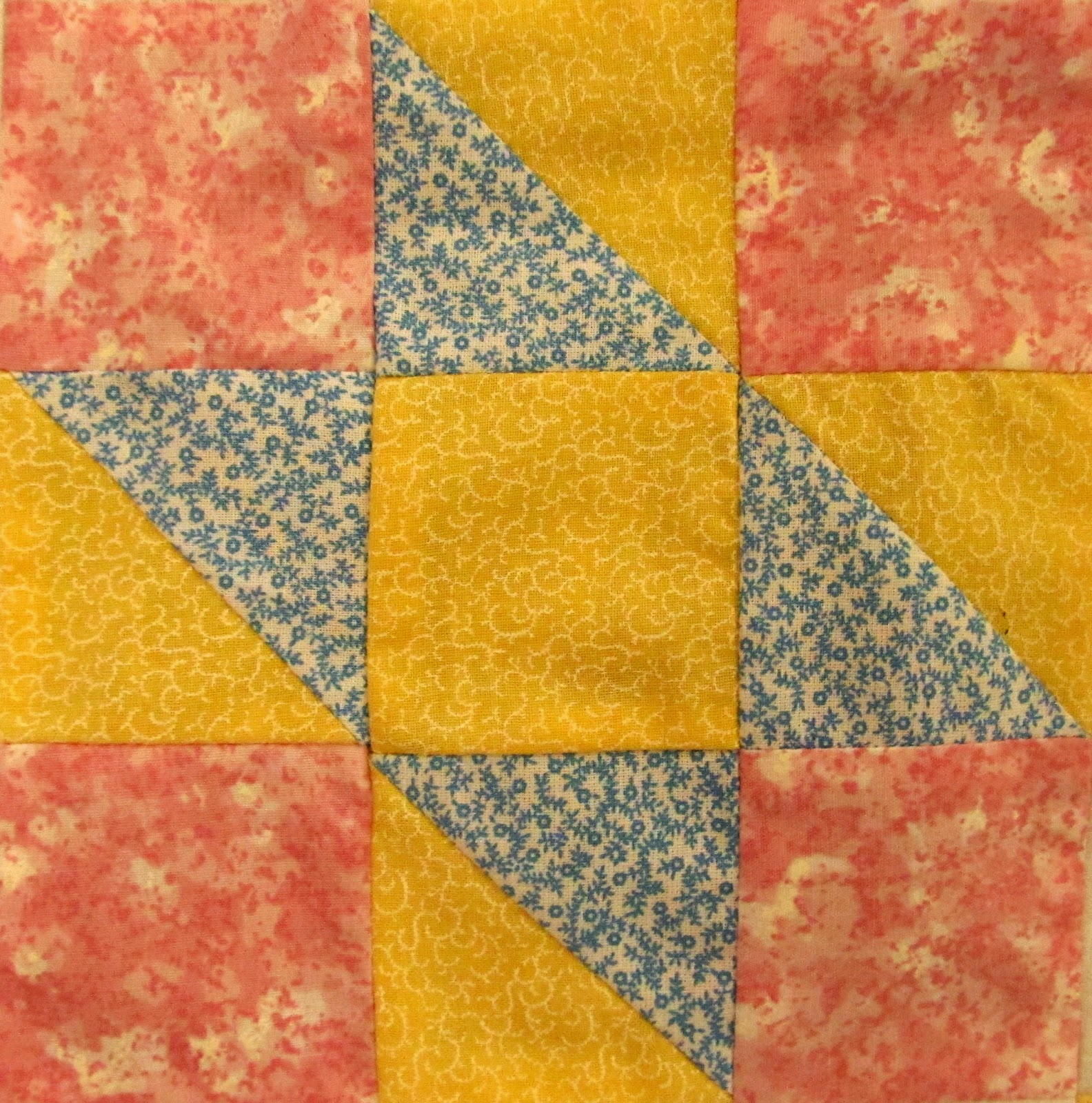 simple quilt block pattern