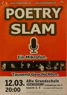 Plakat Poetry-Slam Igensdorf 2016