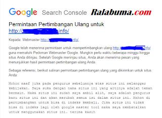 Cara Mengembalikan Blog Yang Tidak Terindeks Google