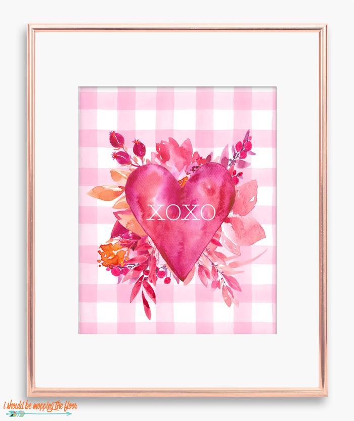 XOXO Printable