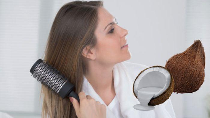 Manfaat santan kelapa untuk kesehatan rambut