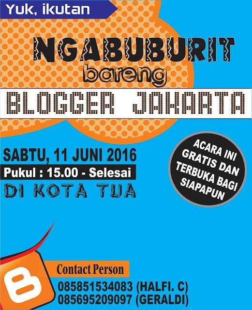 Blogger Jakarta Mengadakan Gathering
