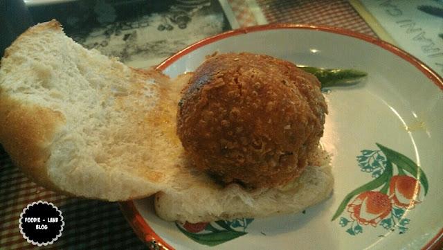 Bacon Vada Pav@ SodaBottleOpenerWala | Lavelle Road | Bangalore