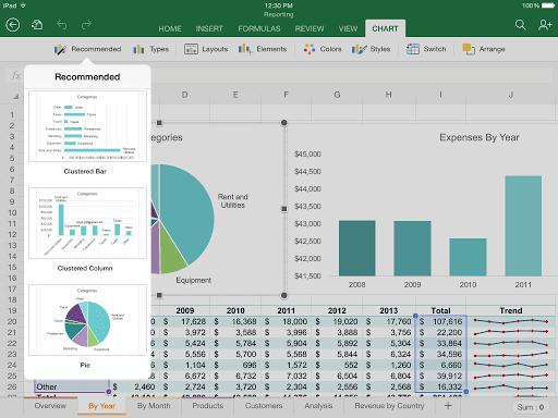 Microsoft Office Gratis di iPad