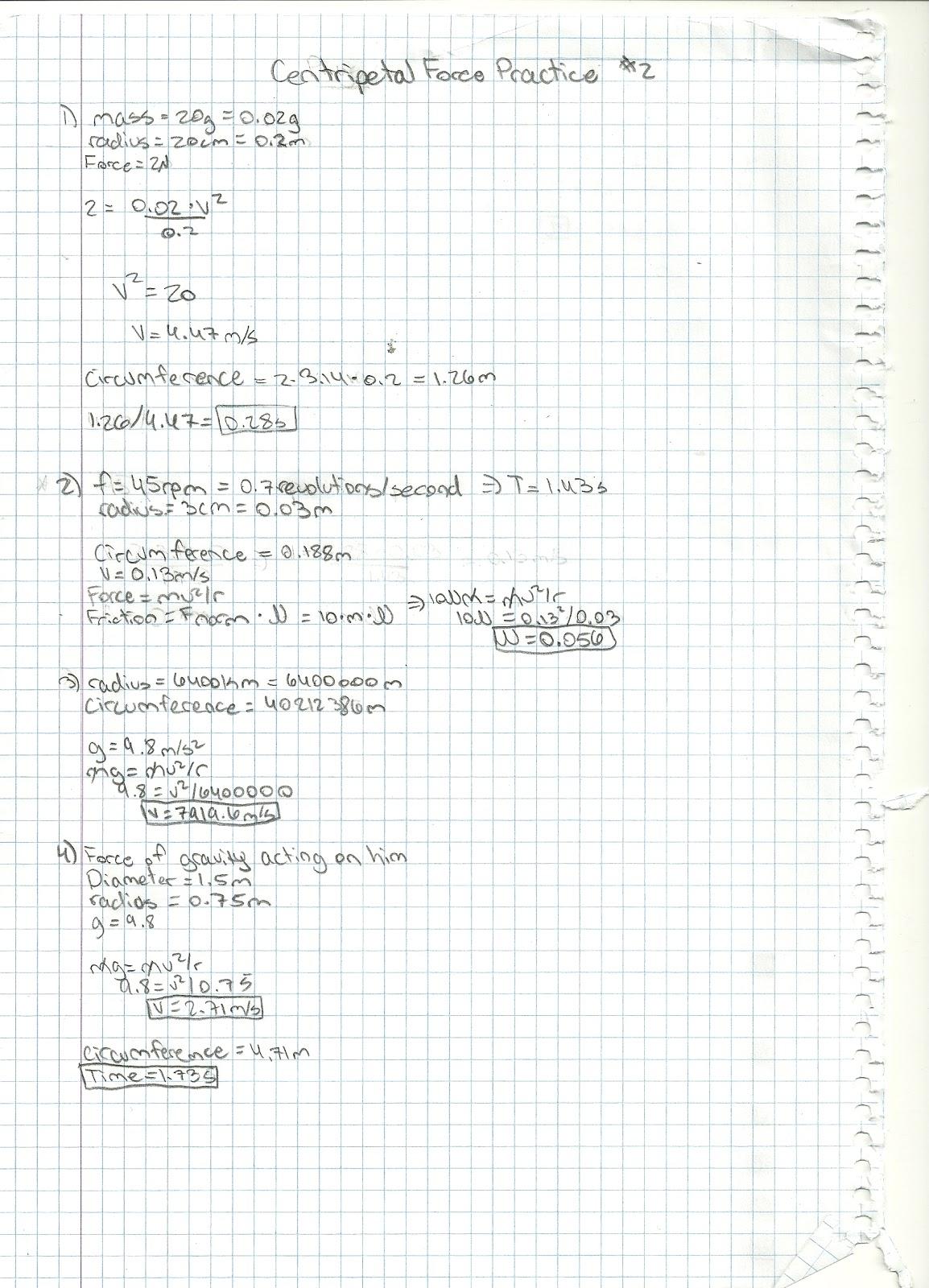 Michael S Physics Page