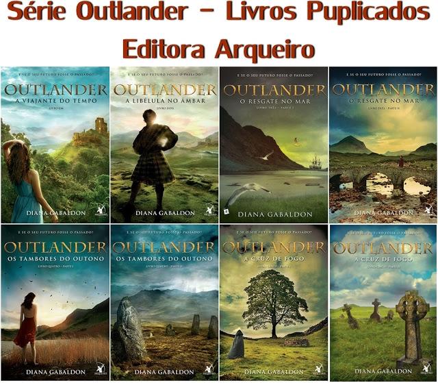 Série Outlander - Editora Arqueiro