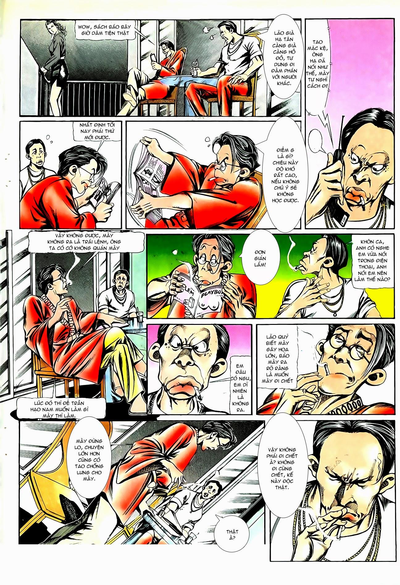 Người Trong Giang Hồ chapter 86: săn báo trang 3