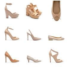 340c1703 ... zapatos en color nude y/o beige, ya que harán que tu piernas se vean  más estilizada, lo que es al contrario cuando usas colores fuertes o el  negro.
