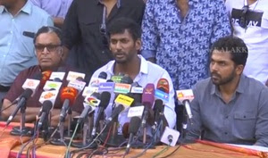 Nadigar Sangam Press Meet Regarding General Body Meeting