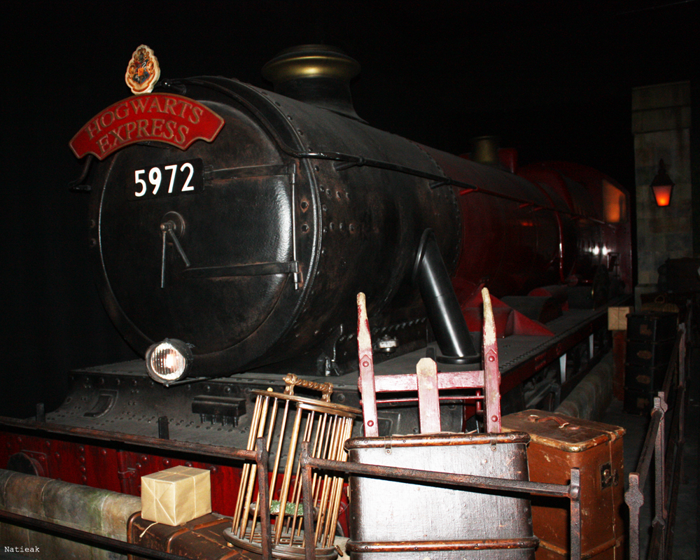 Poudlard express exposition Harry Potter