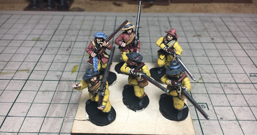 Wet Paint: Thirty Years War musketeers