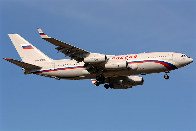 Ilyushin Il-96-300PU The PUM1 Russian Presidential Aircraft