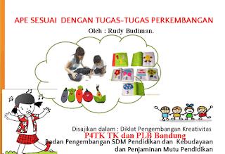 APE (Alat Permaian Edukatif) Media Pembelajaran Anak Usia Dini