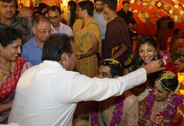 nimmagadda prasad daughter swathi wedding photos