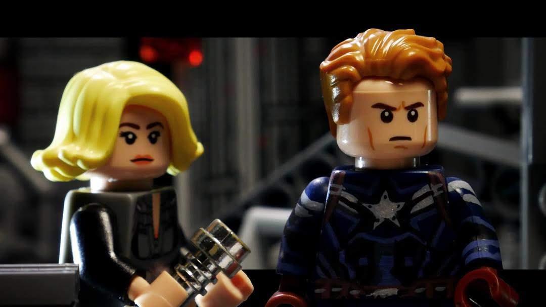 Avengers Endgame Trailer in LEGO :「アベンジャーズ」の最初のクライマックス「エンドゲーム」が初公開した予告編を LEGO 化した予告編 ! !