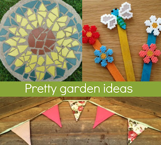 Ways to make the garden pretty with crafts