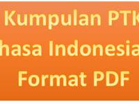 Kumpulan PTK Bahasa Indonesia SD Format PDF