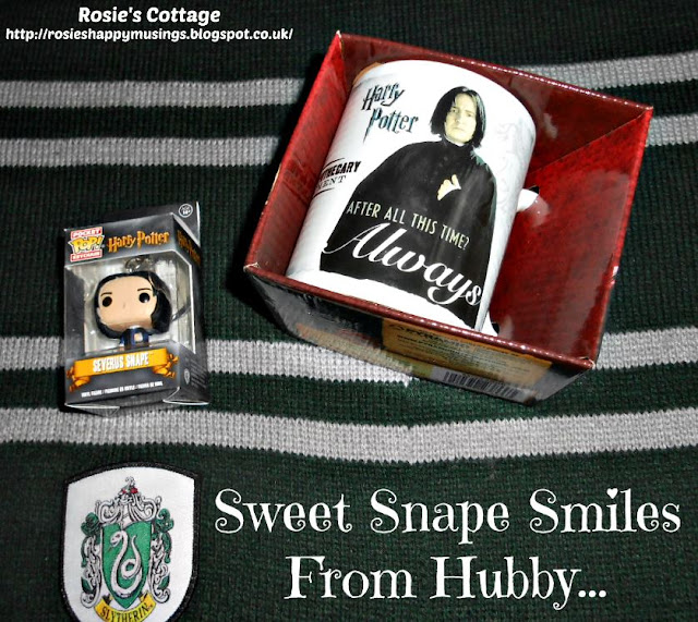 Sweetest Harry Potter Related Snape Smiles From Hubby