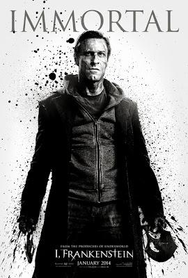 Poster Oficial I, Frankenstein - Aaron Eckhart