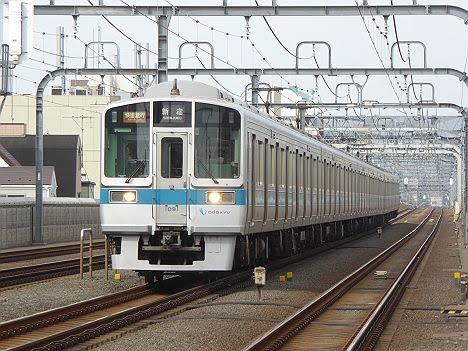 小田急電鉄 快速急行 新宿行き1 1000形