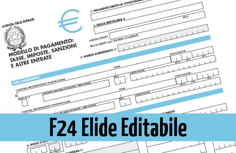 mod f24 versamenti con elementi identificativi