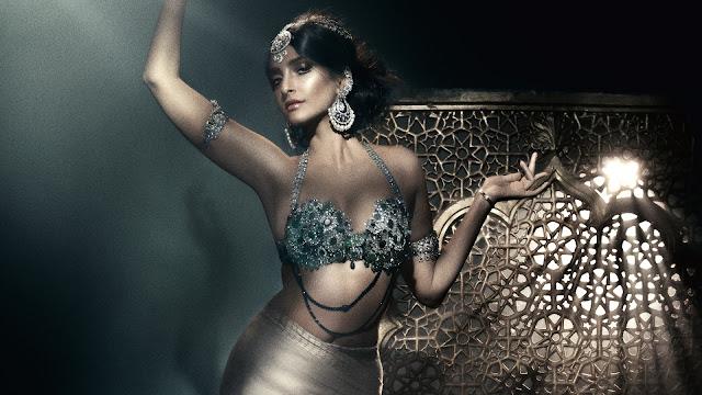 Sonam Kapoor - Vogue October 2017