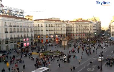 câmera ao vivo de madrid espanha