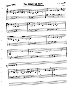 Partitura Flauta Keith Jarrett