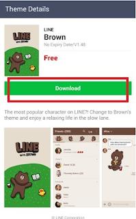Cara mengubah Tema di aplikasi LINE, beginilah caranya