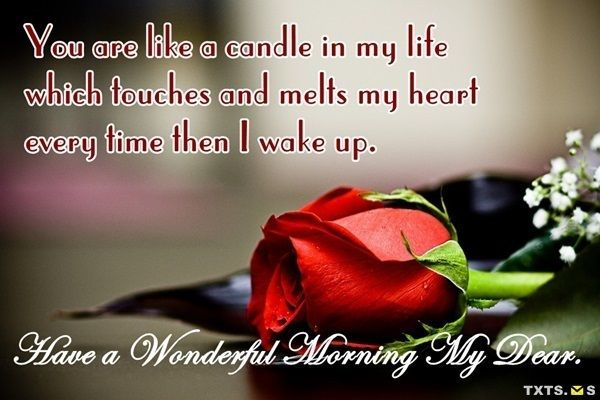 Good Morning Love Quotes Images for Her From the Heart