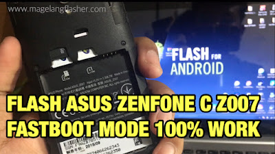 cara flash asus z007 via adb