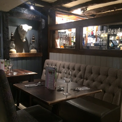 Brentwood, Dining, Essex, Review, The Boars Head, Chef & Brewer, Pub