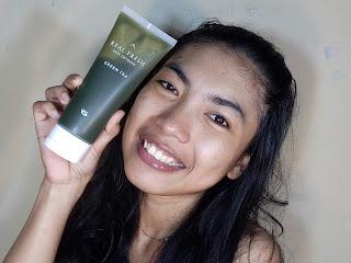 setelah pakai real fresh skin cleanser