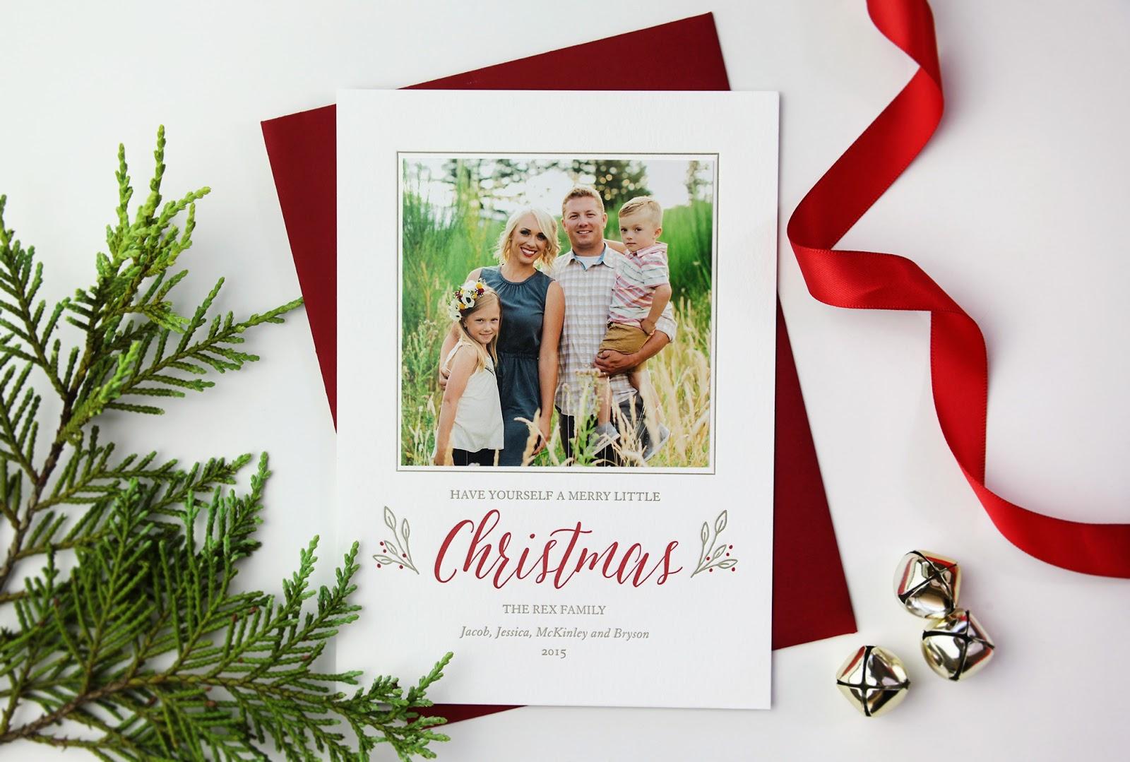 Letterpress Holiday Cards | Sweetly Said Press