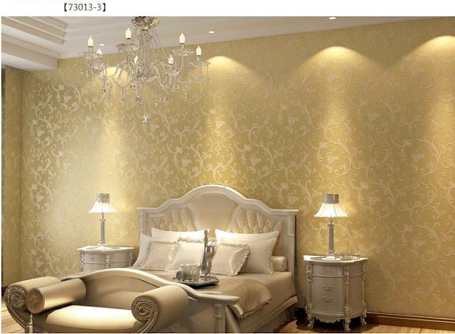 Tone Warna Dan Jenis Wallpaper Memainkan Peranan Penting Supaya Kelihatan Ceria Nampak Luas