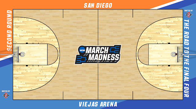 ncaa tournament court