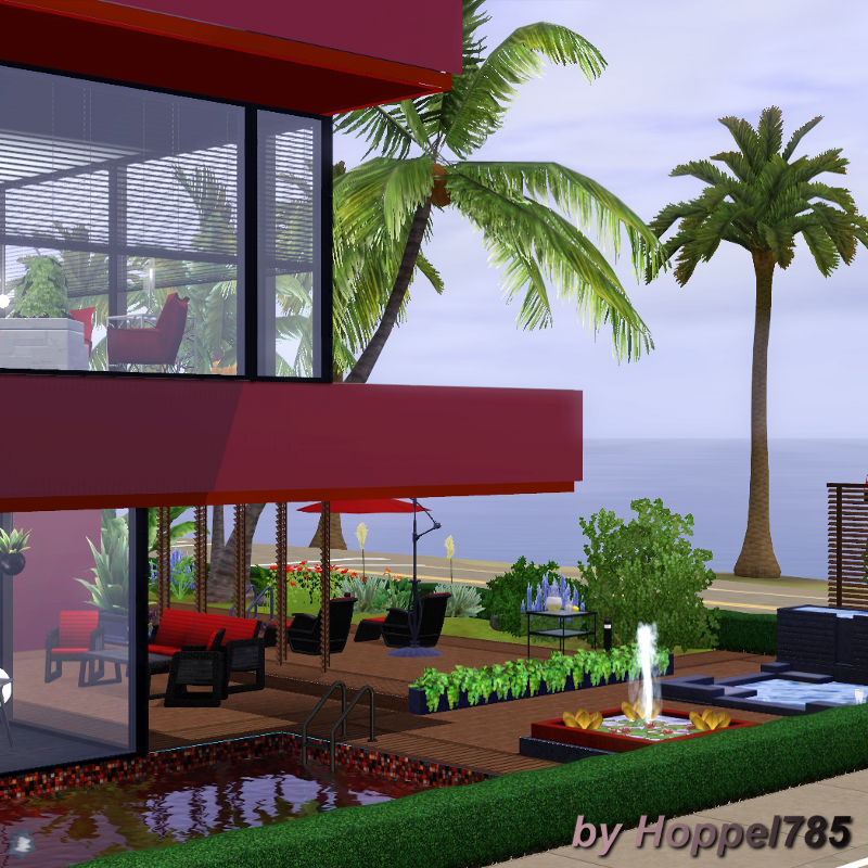 Hoppel785 S Kreationen Little Villa In Red And Black By