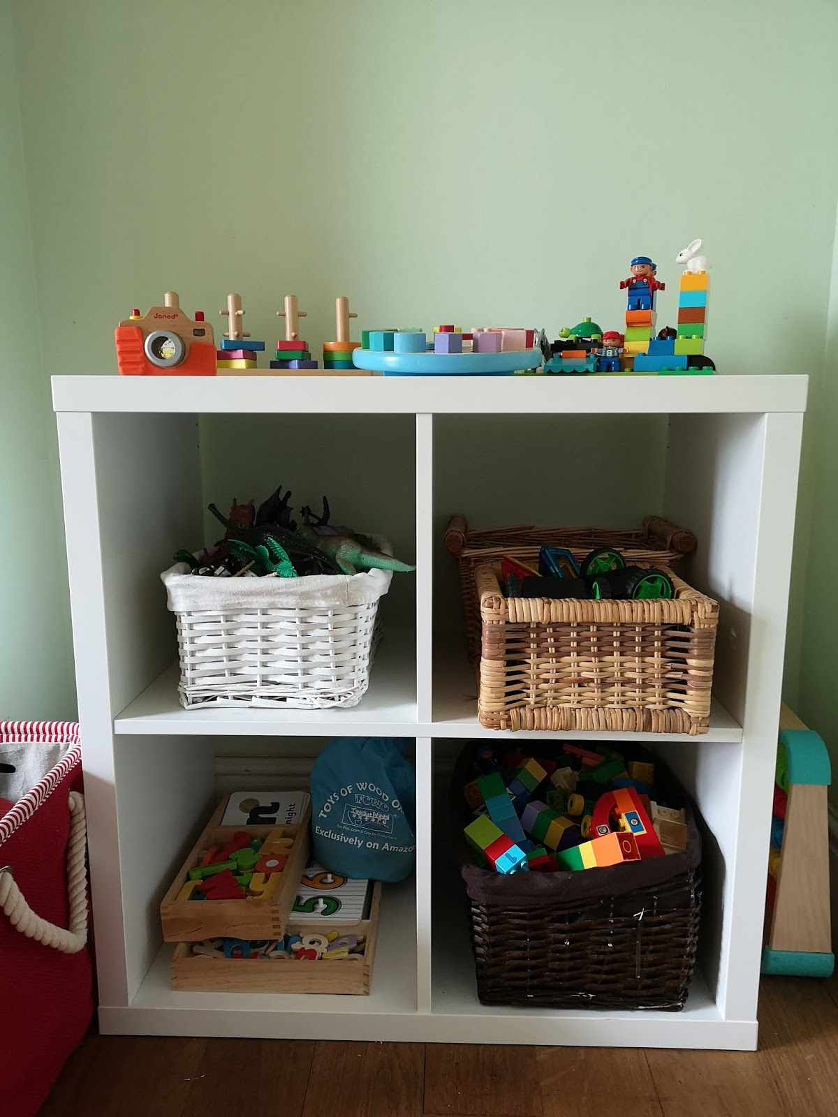 Ikea Kallax Toy Storage