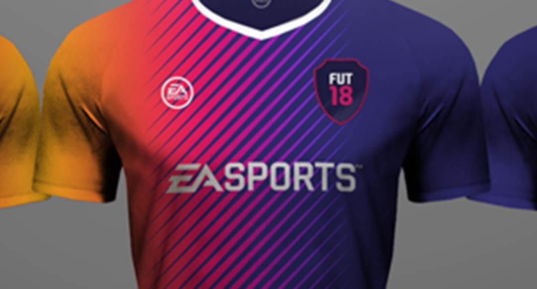 a6571487f The publisher also presented the first custom jerseys that will be featured in  FUT 18 Ultimate Team