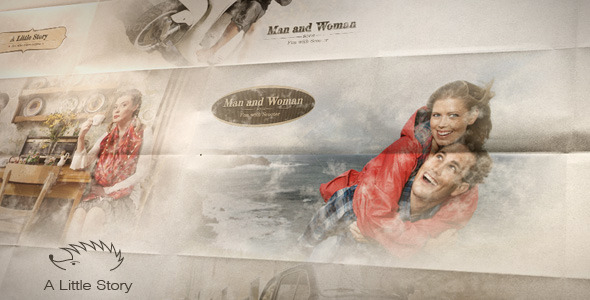 VideoHive A Little Story