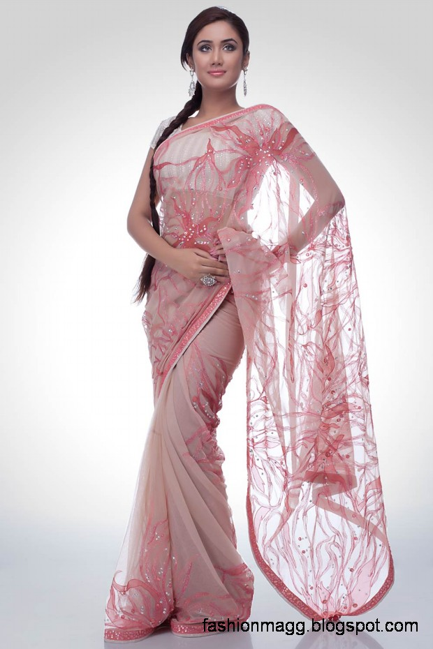 Fashion Mag: Indian Embroidered Sarees Designs-New Trends