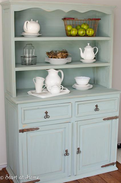 Duck Egg Blue Hutch | Start at Home Decor