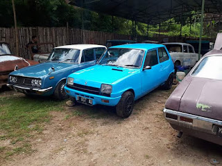 Lapak Mobil Antik Renault 5TL Coupe 1975