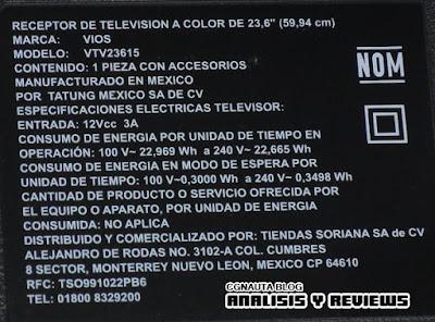 Televisi n mover a m xico de 24 pulgadas rese a de la - Cuanto mide una tele de 32 pulgadas ...